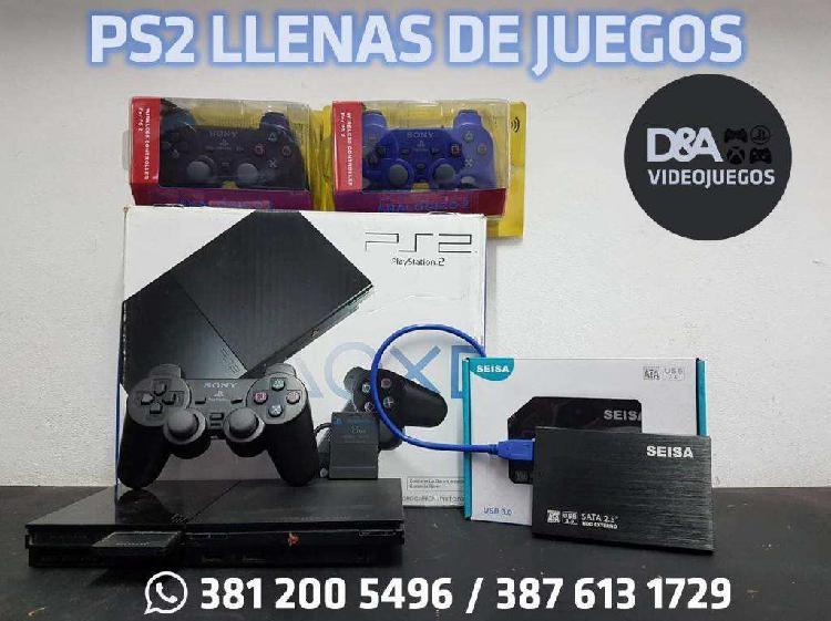 PS2 LLENAS DE JUEGOS