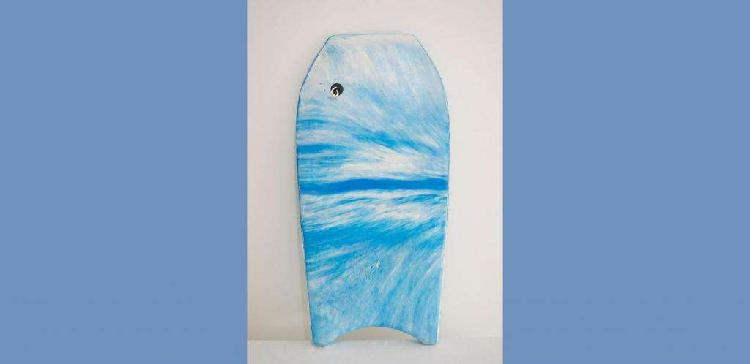 Tabla barrenadora de olas