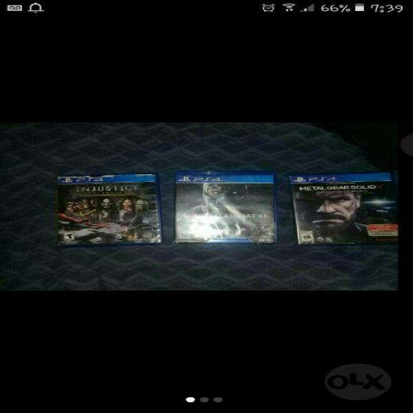 Vendo Juegos de Play4 Originles