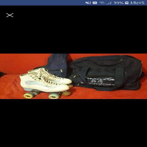 Vendo patines italianos n38 para saltos