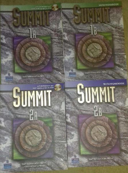 Libros curso de ingles summit
