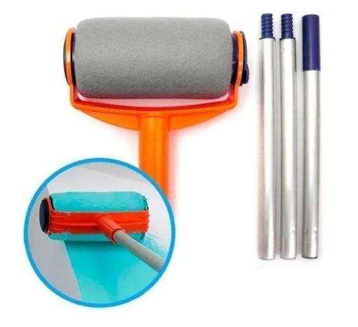 Rodillo Recargable paint roller Kit Pintar Barra Extensor