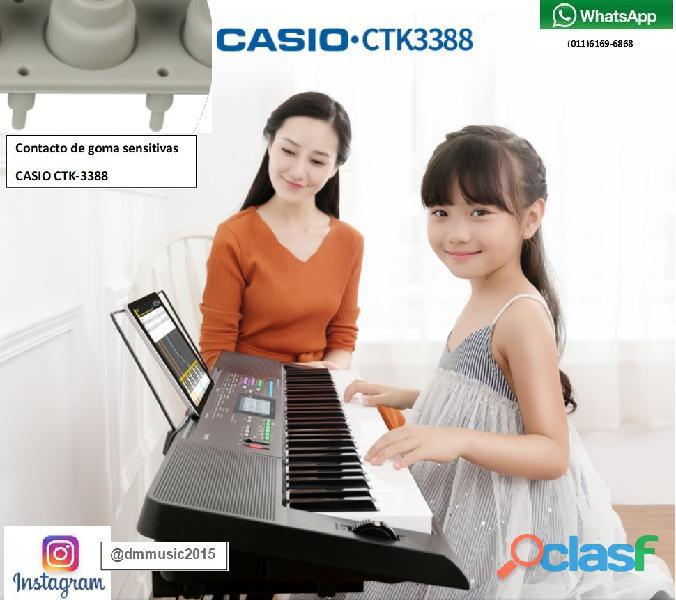 Servicio técnico especializado de teclados casio
