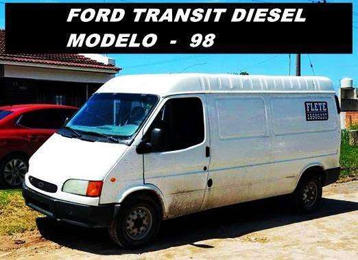 Ford transit diesel modelo 98