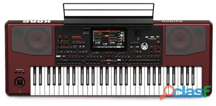 nuevo Korg PA 1000 con sus accesorios completos y garantía