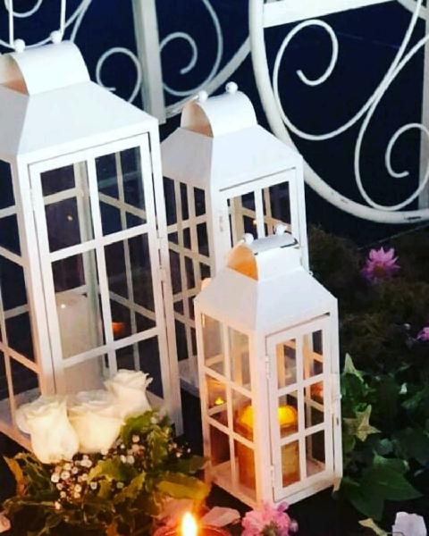 Alquiler de faroles, guirnaldas, velas led