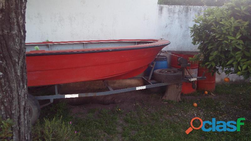 Casco pescador doble fondo