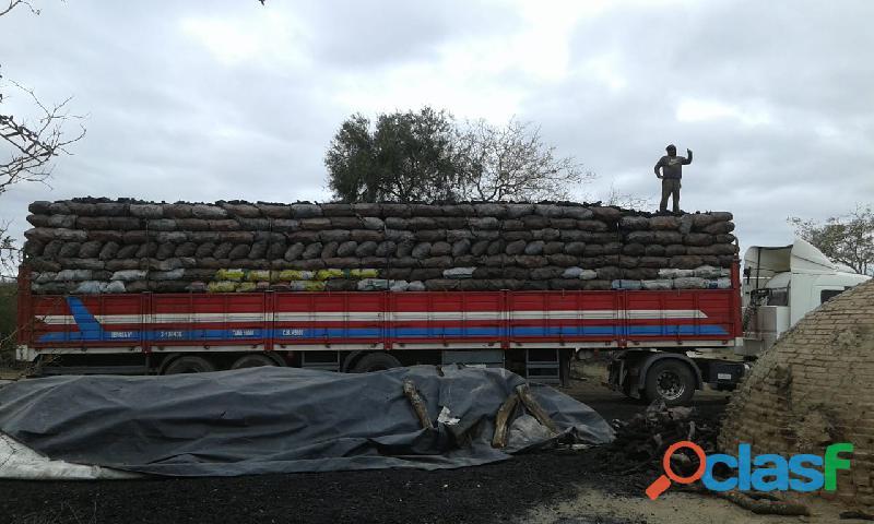 Venta de equipos completos a granel de carbón y leña