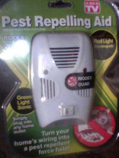 Aparato erradicador de plagas