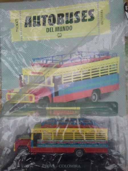 Autobuses del mundo varios modelos