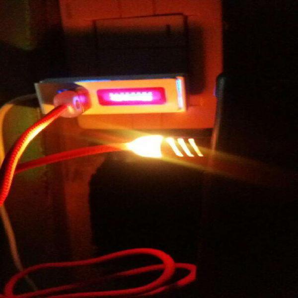 Cable Rápido Usb Micro con Luces