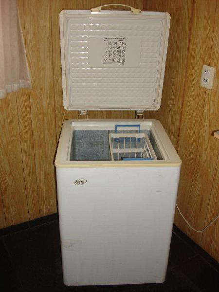 Heladera freezer horizontal gafa