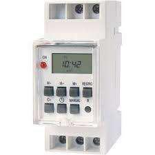 Timer 12v temporizador riego reloj digital riel din timmer