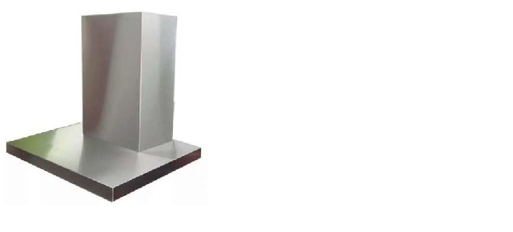 Campana modelo slim acero filtro y luz 60cm marca mac