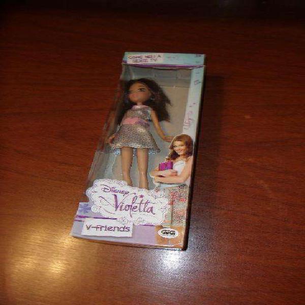 Muñeca de violetta personaje francesa ditoys usada