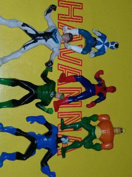 Super heroes mac donals