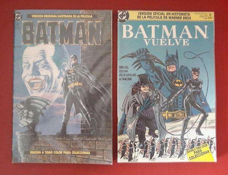 2 comics adapción película oficial [dc] batmam [1989]