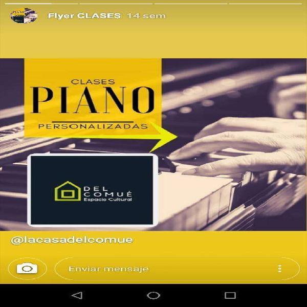 Clases de piano,flauta,ukelele