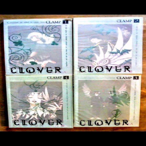 Clover de clamp manga cómic japonés