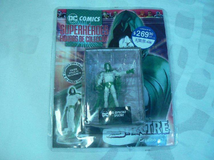 Dc comics superhéroes figuras de colección entrega n 34