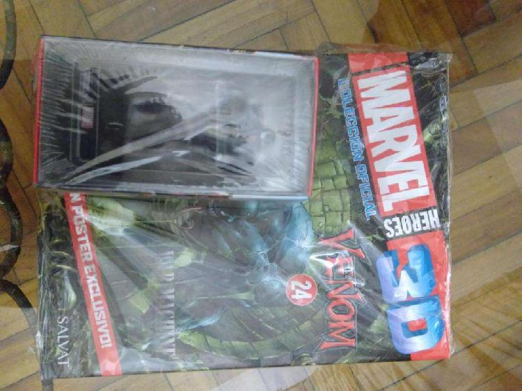 Figura marvel 3d venom y spiderman el origen de venom comic