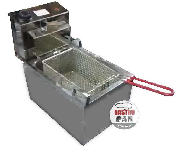 Freidora electrica 8 litros con canastoroagastropan