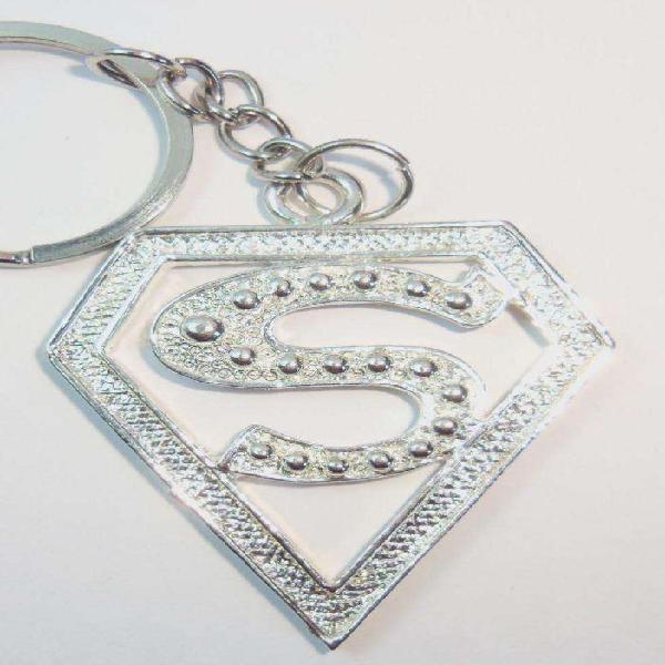Llavero diseño exclusivo escudo letra s para regalo