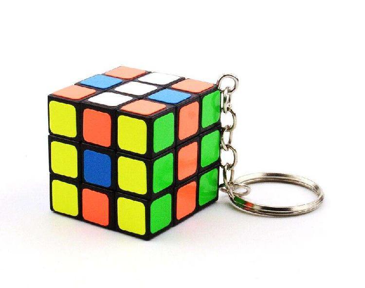 Llavero mini cubo mágico