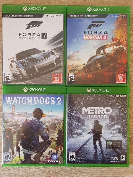 Pack de 4 juegos para xbox one