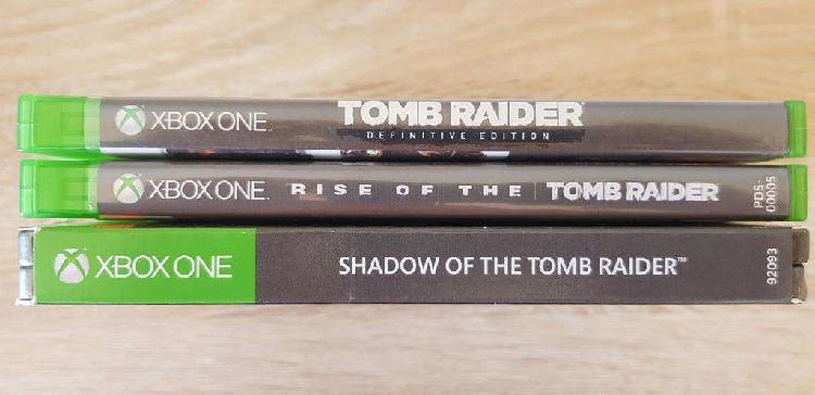 Pack de juegos tomb raider para xbox one (saga completa)
