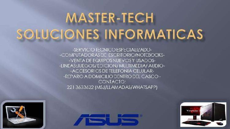 Servicio tecnico informatico especializado
