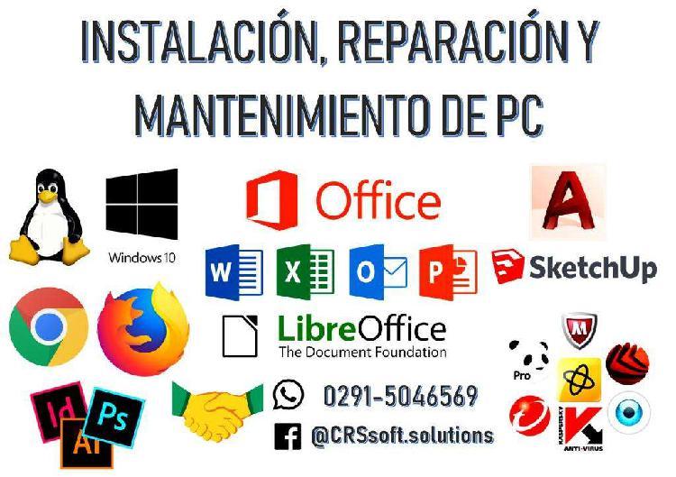 Servicio y asistencia técnica en sistemas informáticos