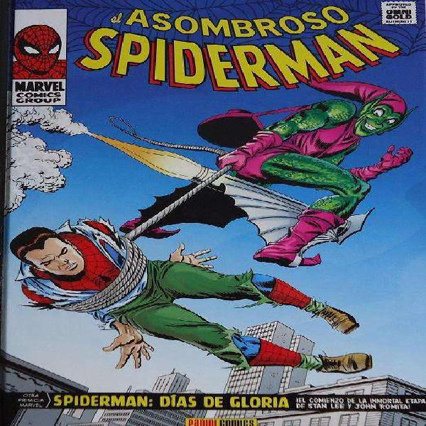 Spiderman días de gloria panini marvel comics