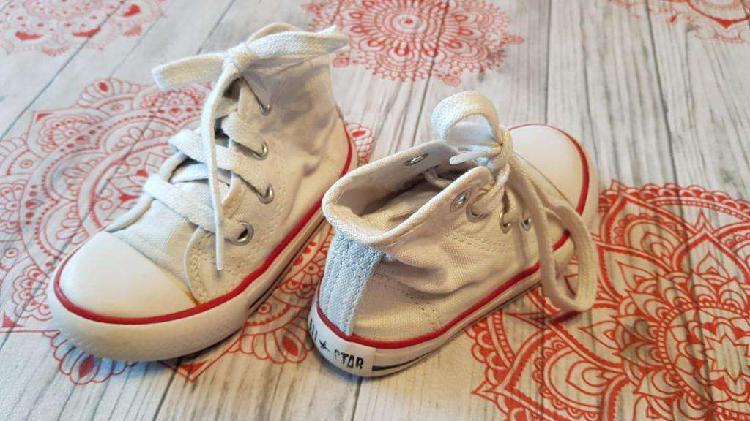 Zapatillas unisex - marca: all star (converse) - blancas -