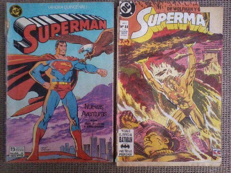 Historieta superman lote 3 comics