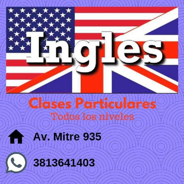 Inglés -clases particulares