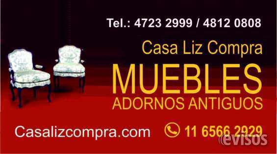 Compro antiguedades 4.812-0808 whats app 1165662929 en