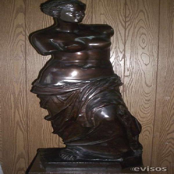 Escultura venus de milo de bronce origen italiano en ezeiza