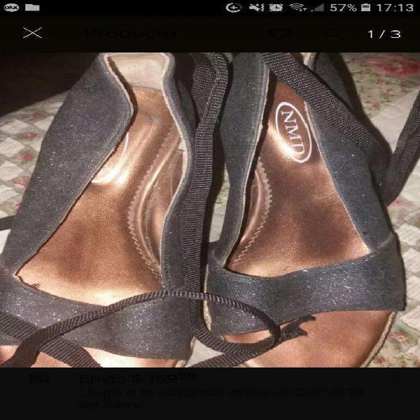 Hermosos zapatos nmd taco chino brillos