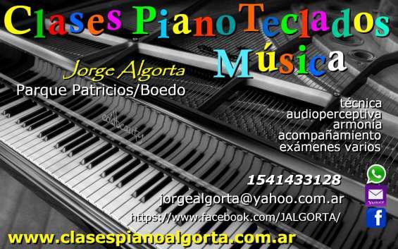 Piano órgano teclados en boedo