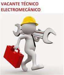 Se necesita tecnico electromecanico