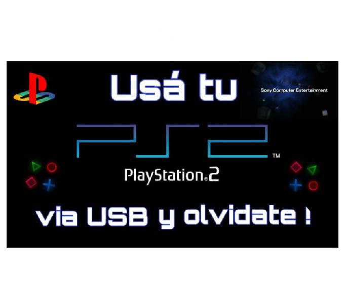 Utiliza tu play 2 via usb