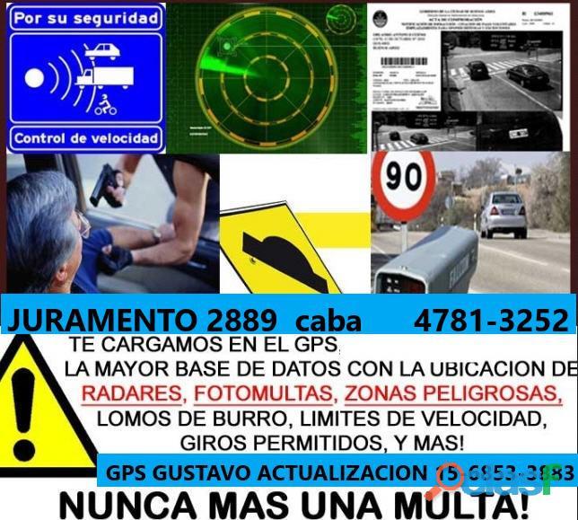 Actualización GPS Garmin Mapas Radares FotoMultas 6