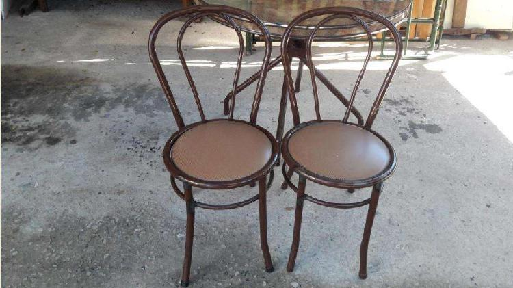 2 sillas caño 800