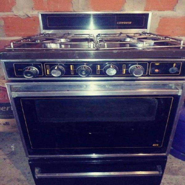 Cocina longvie, mod. 411, enlozada, restaurada a nueva,