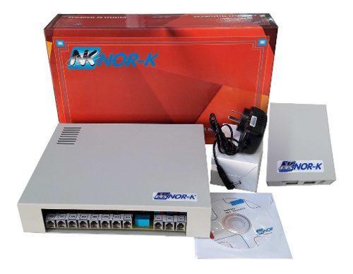 Central telefónica nork 4x16 +port 2h s/abre puerta+ frente