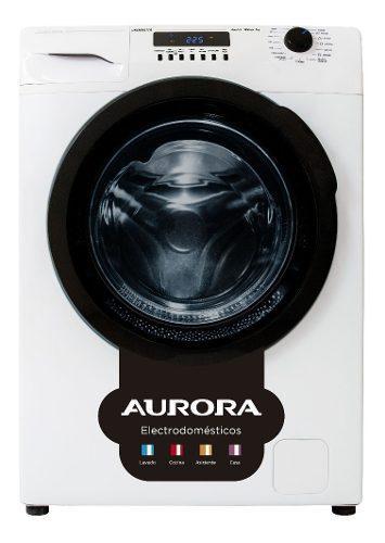 Lavarropas aurora 8514 inverter automatico 8kg. 1400rpm.