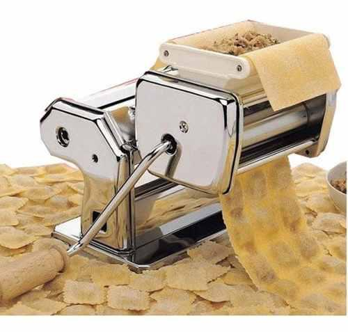 Maquina fabrica pastas fideos tallarin cinta raviolera acero
