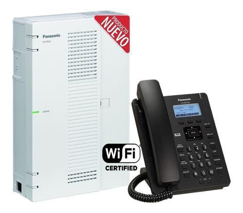 Panasonic ip kx-hts32 8 lineas x 24 internos + hdv130