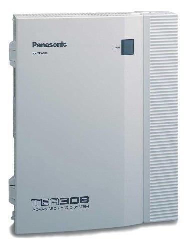 Panasonic teb308 3 lineas / 8 internos con preatendedor